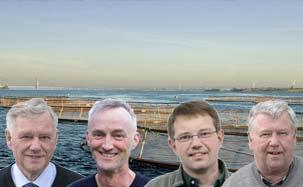 From left: Anders Priess, Henning Priess, Morten Priess & Nels Priess
